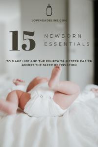 15 Newborn Essentials